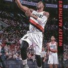 2014 Threads Basketball Card #197 Wesley Matthews