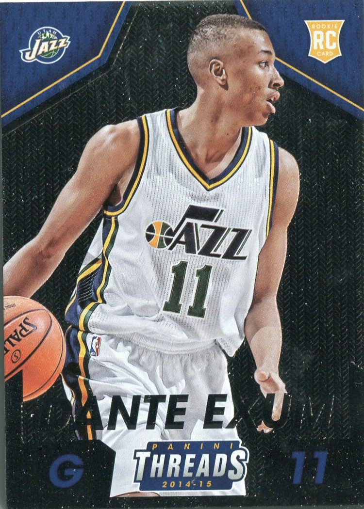 2014 Threads Basketball Card #291 Dante Exum