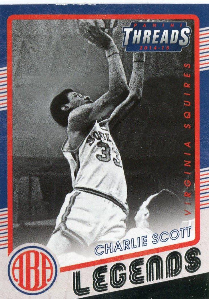 2014 Threads Basketball Card Legends #5 Charlie Scott