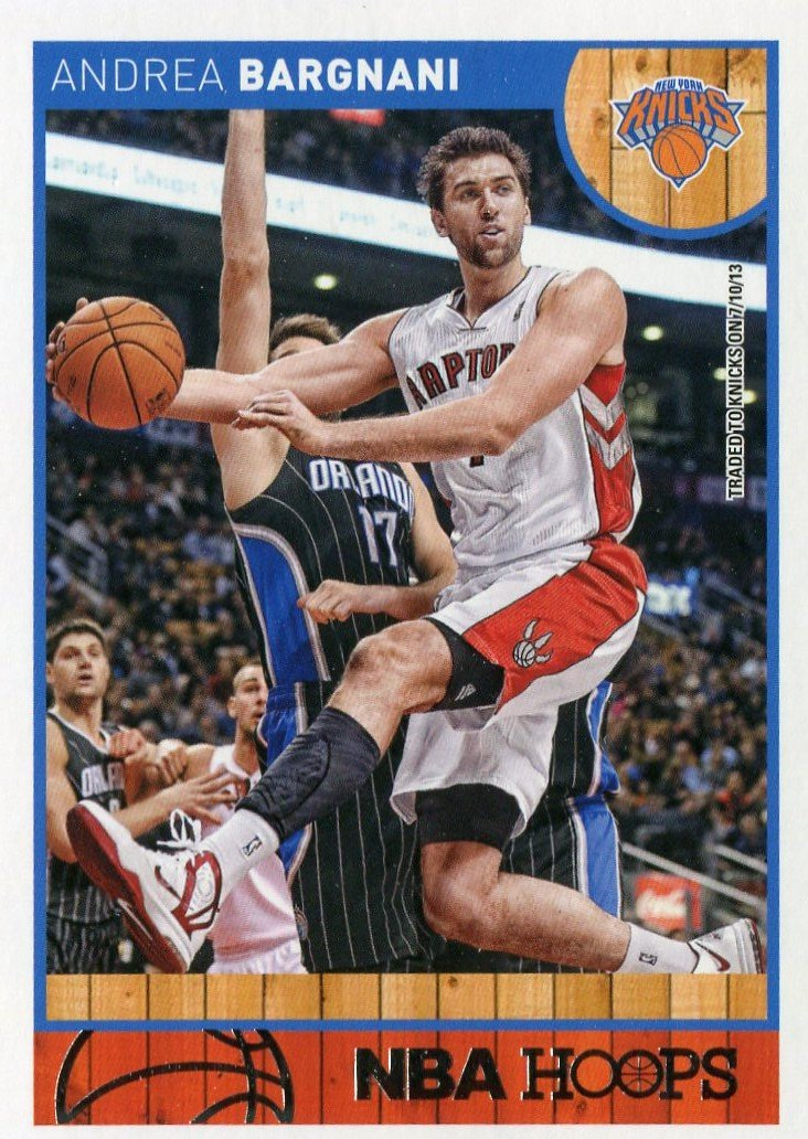 2013 Hoops Basketball Card #224 Andrea Bargnani