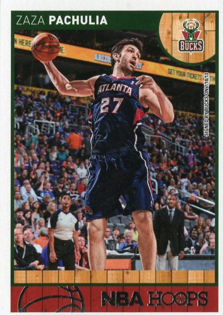 2013 Hoops Basketball Card #248 Zaza Pachulia