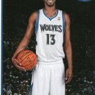 2013 Hoops Basketball Card #251 Corey Brewer