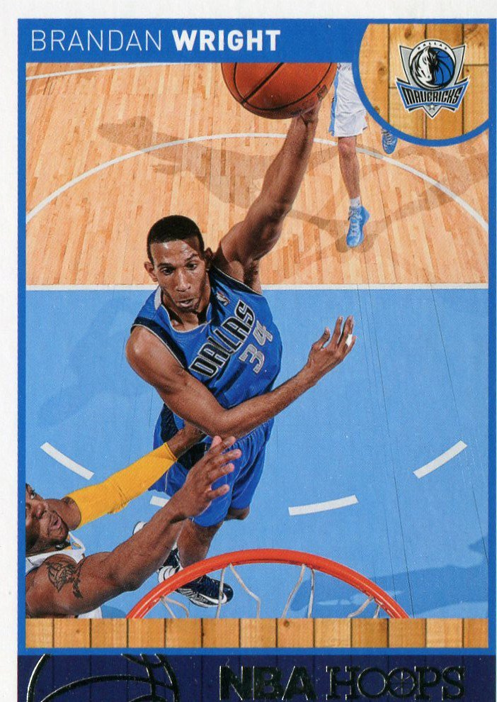 2013 Hoops Basketball Card #259 Brandan Wright