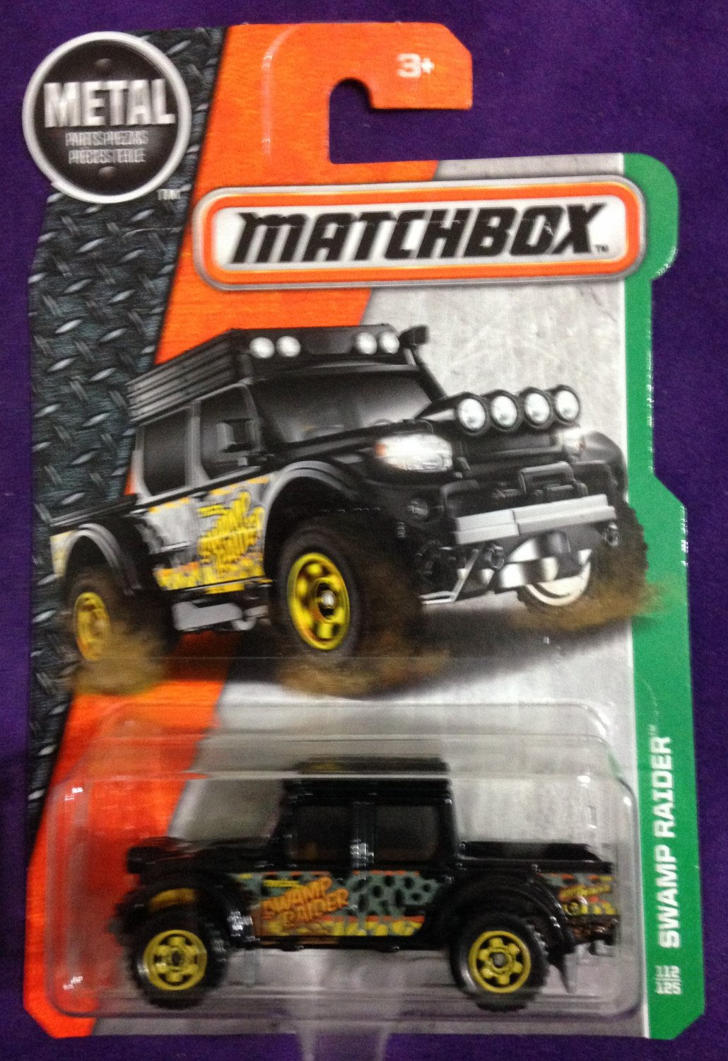 2017 Matchbox #112 Swamp Raider