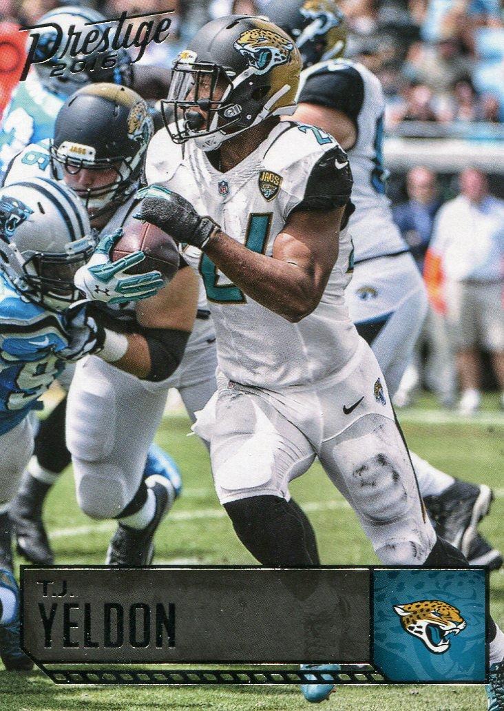 2016 Prestige Football Card #91 T J Yelden