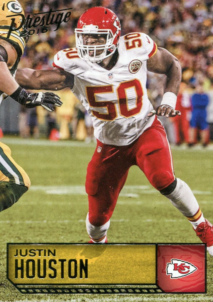 2016 Prestige Football Card #102 Justin Houston