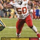 2016 Prestige Football Card #102 Justin Houston