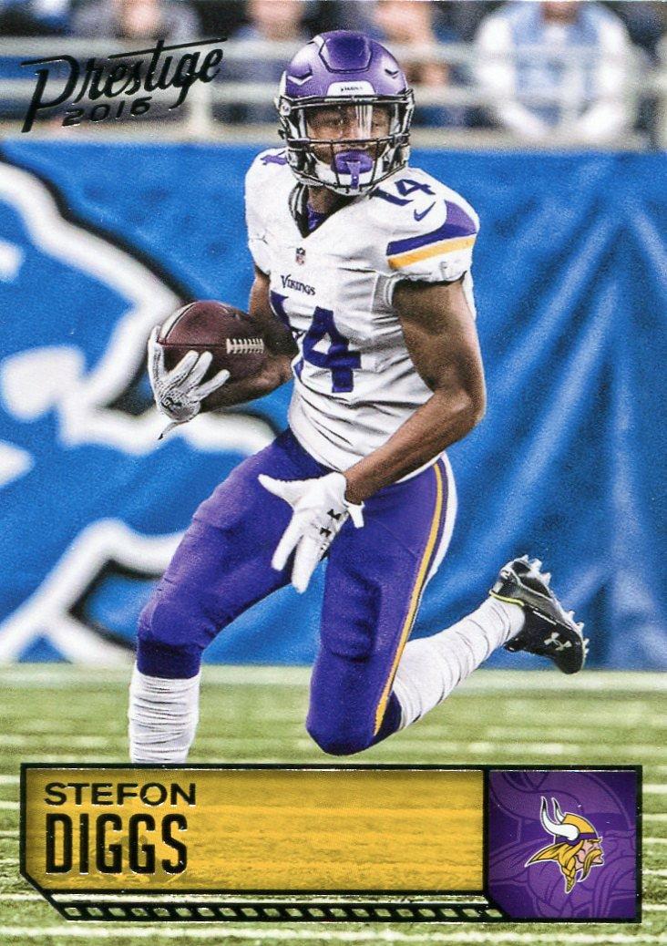2016 Prestige Football Card #112 Stefon Diggs