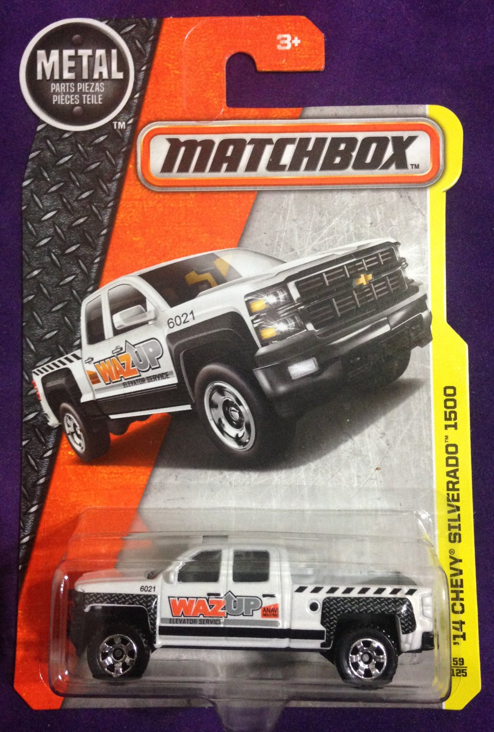 2017 Matchbox #59 14 Chevy Silverado 1500