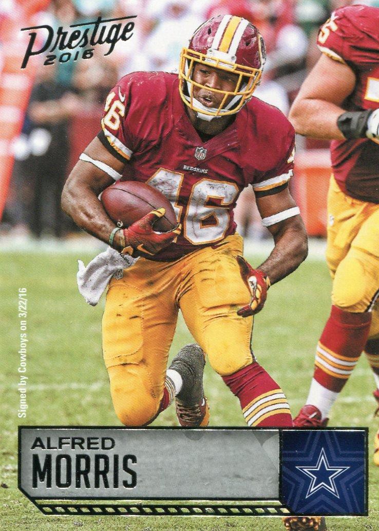 2016 Prestige Football Card #197 Alfred Morris