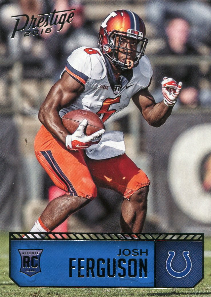 2016 Prestige Football Card #230 Josh Ferguson
