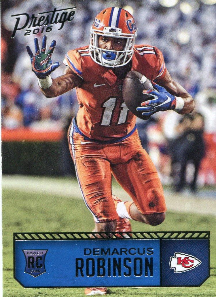 2016 Prestige Football Card #249 Demarcus Robinson