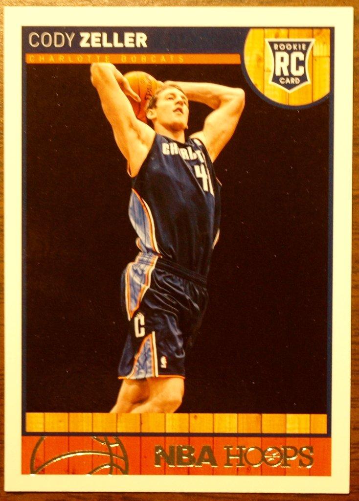 2013 Hoops Basketball Card #264 Cody Zeller