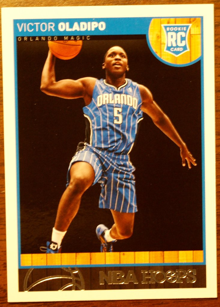 2013 Hoops Basketball Card #262 Victor Oladipo