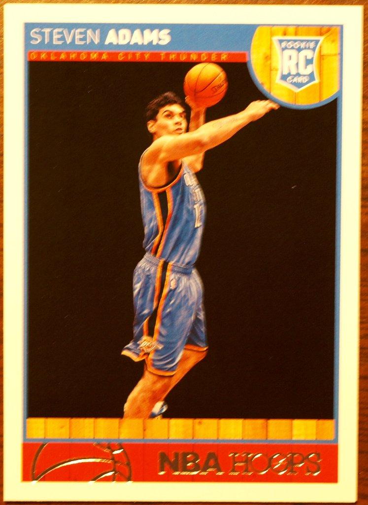 2013 Hoops Basketball Card #272 Steven Adams