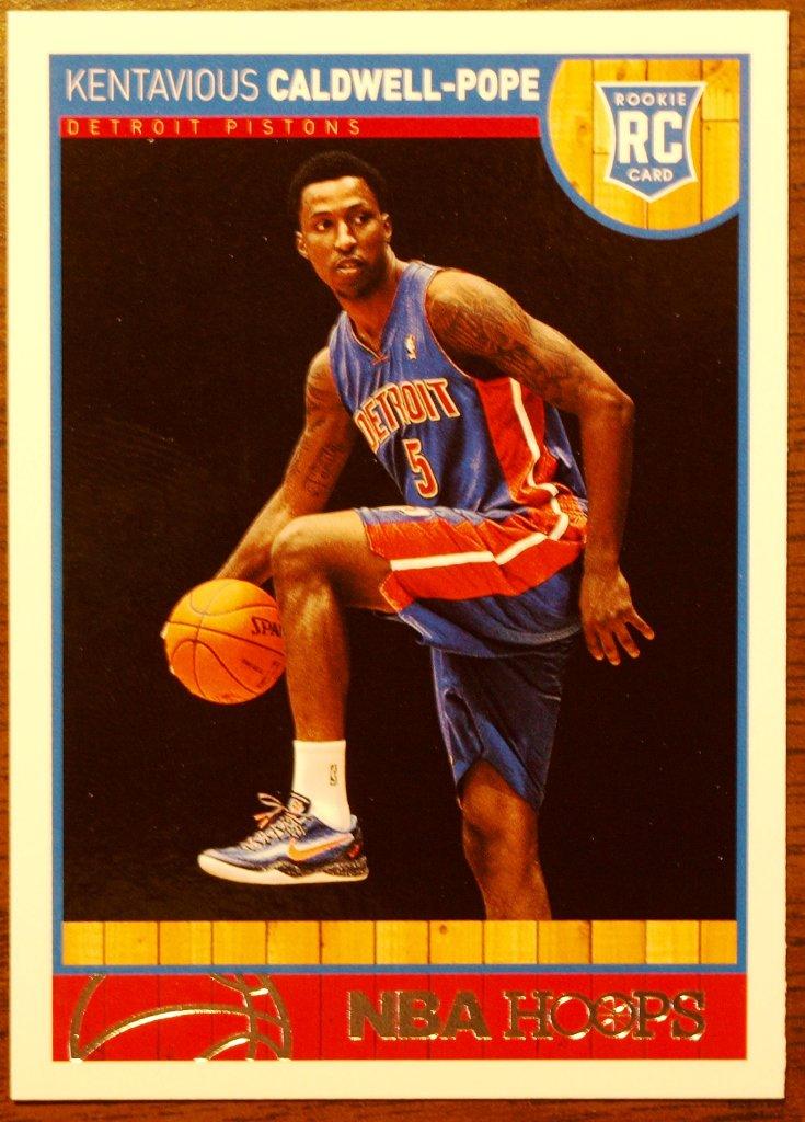 2013 Hoops Basketball Card #268 Kentavious Caldwell-Pope