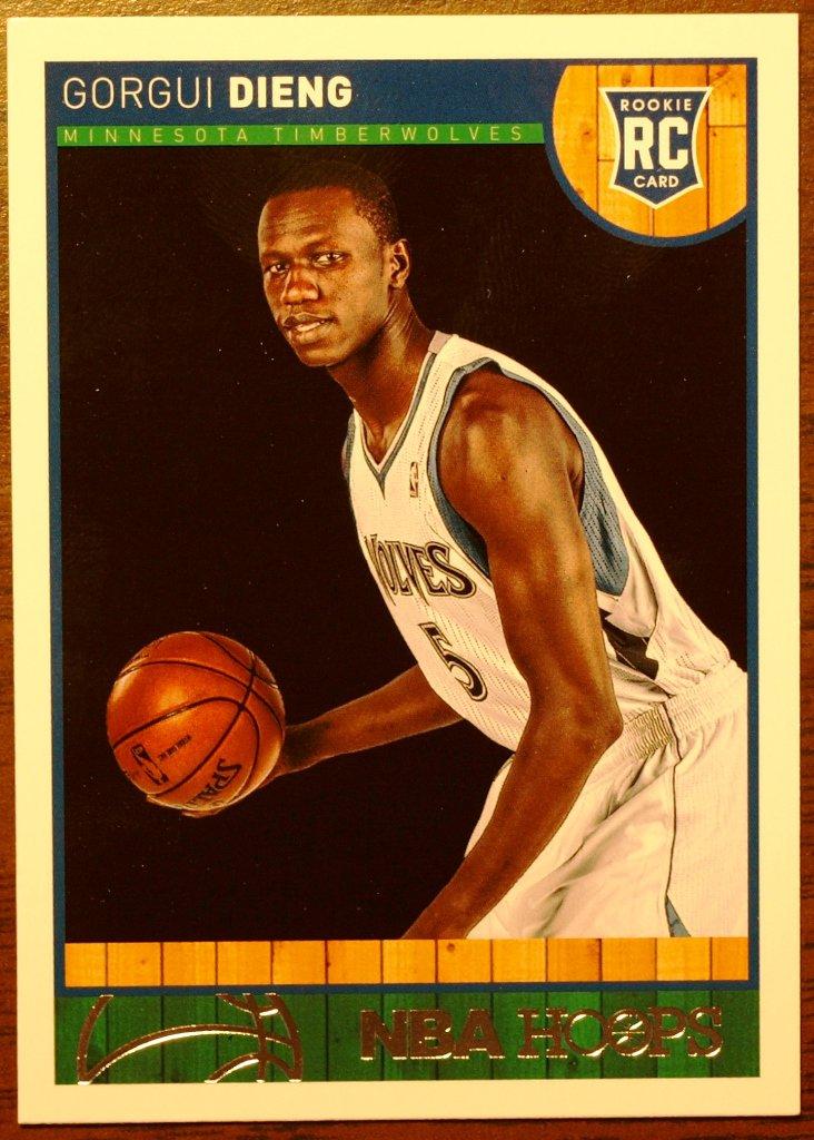 2013 Hoops Basketball Card #281 Gorgui Dieng