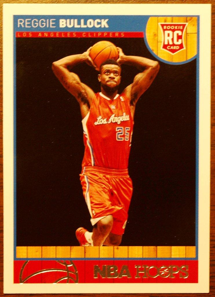 2013 Hoops Basketball Card #285 Reggie Bullock
