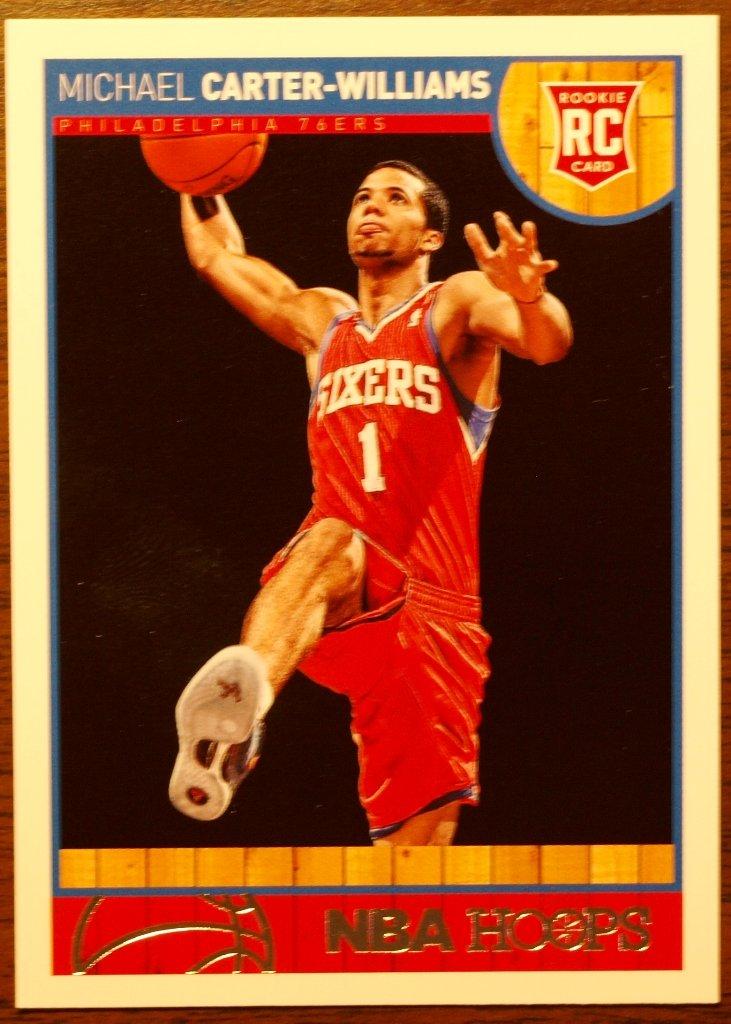 2013 Hoops Basketball Card #271 Michael Carter-Williams