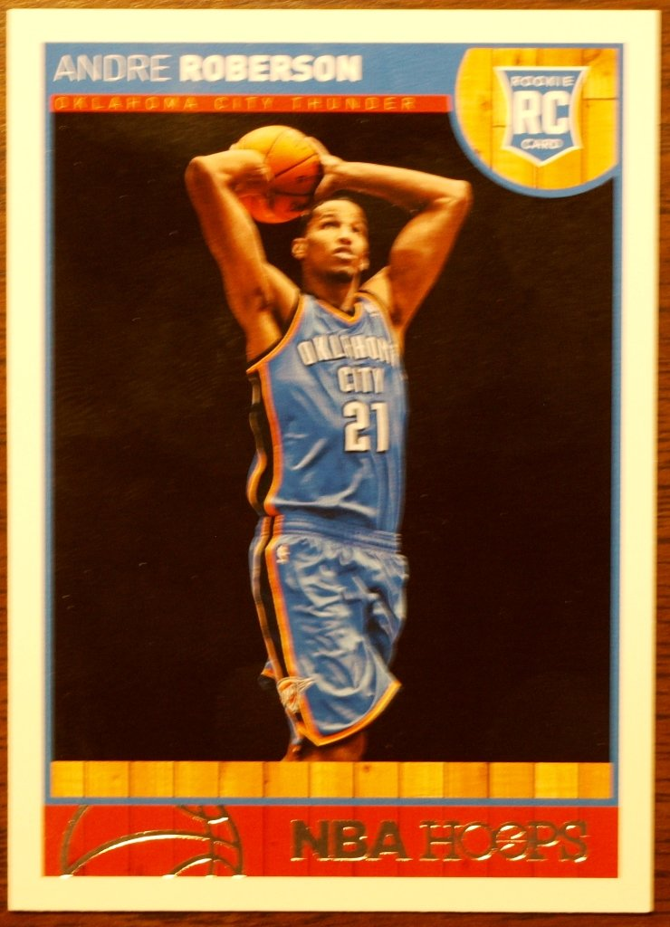 2013 Hoops Basketball Card #286 Andre Roberson