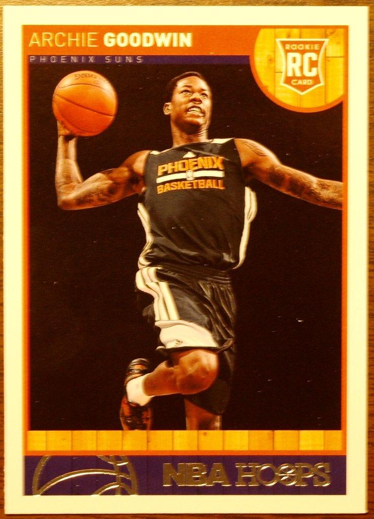 2013 Hoops Basketball Card #288 Archie Goodwin
