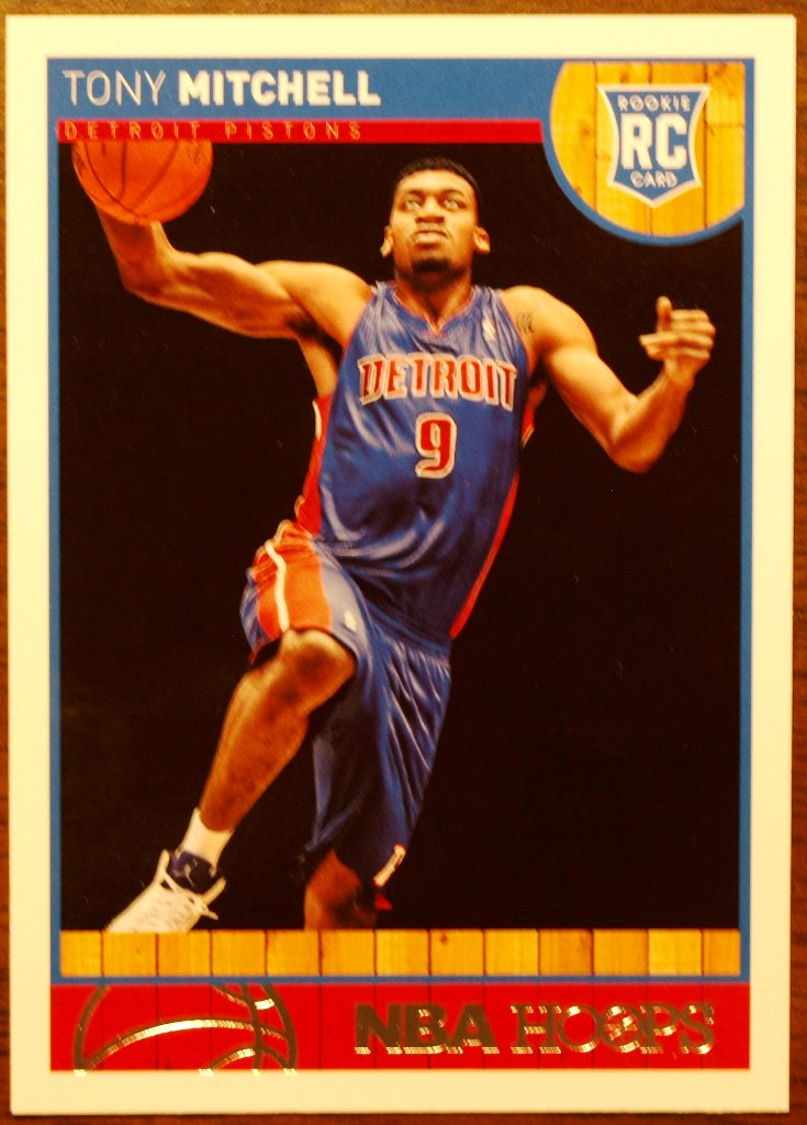 2013 Hoops Basketball Card #293 Tony Mitchell