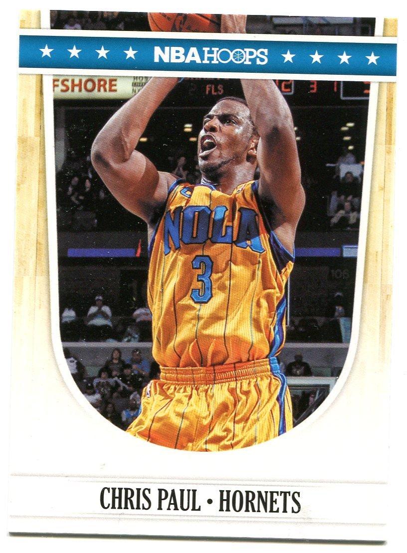 2011 Hoops Basketball Card #274 Chris Paul