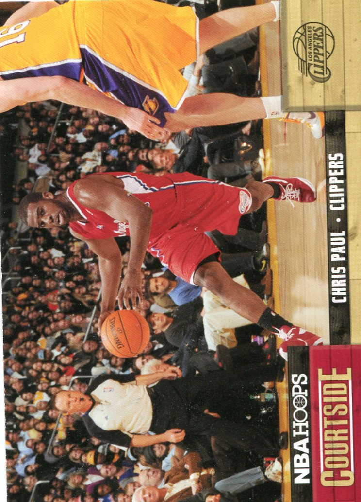 2011 Hoops Basketball Card Courtside #3 Chris Paul
