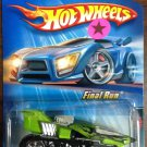 2005 Hot Wheels #72 Treadator