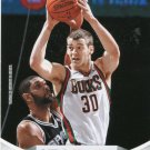 2012 Hoops Basketball Card #255 Jon Leuer