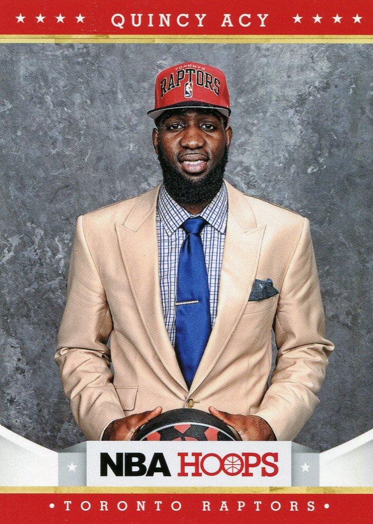 2012 Hoops Basketball Card #293 Quincy Acy
