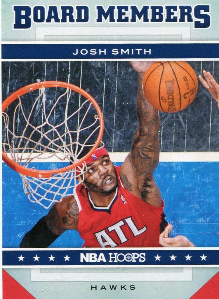 2012 Hoops Basketball Card Board Members #13 Josh Smith