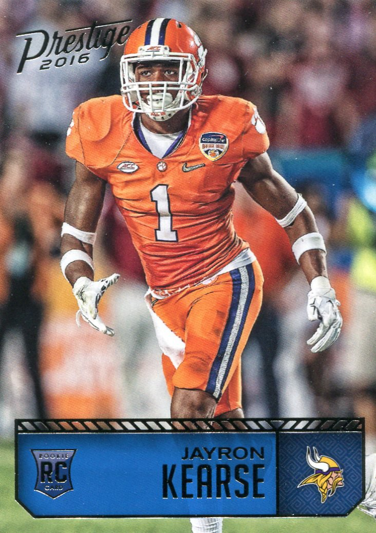 2016 Prestige Football Card #298 Jayron Kearse