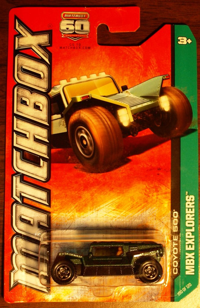 2013 Matchbox #100 Coyote 500