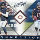 2016 Prestige Football Card Connections #5 Jay Cutler / Kevin White