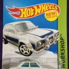 2015 Hot Wheels #221 70 Ford Escort RS1600