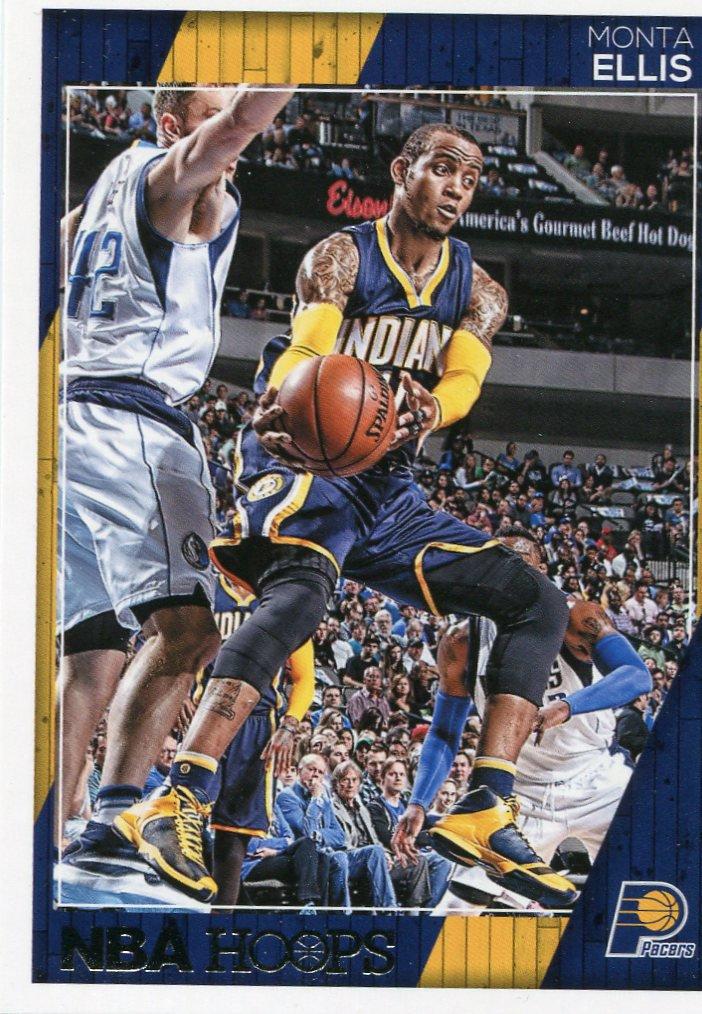 2016 Hoops Basketball Card #97 Monta Ellis