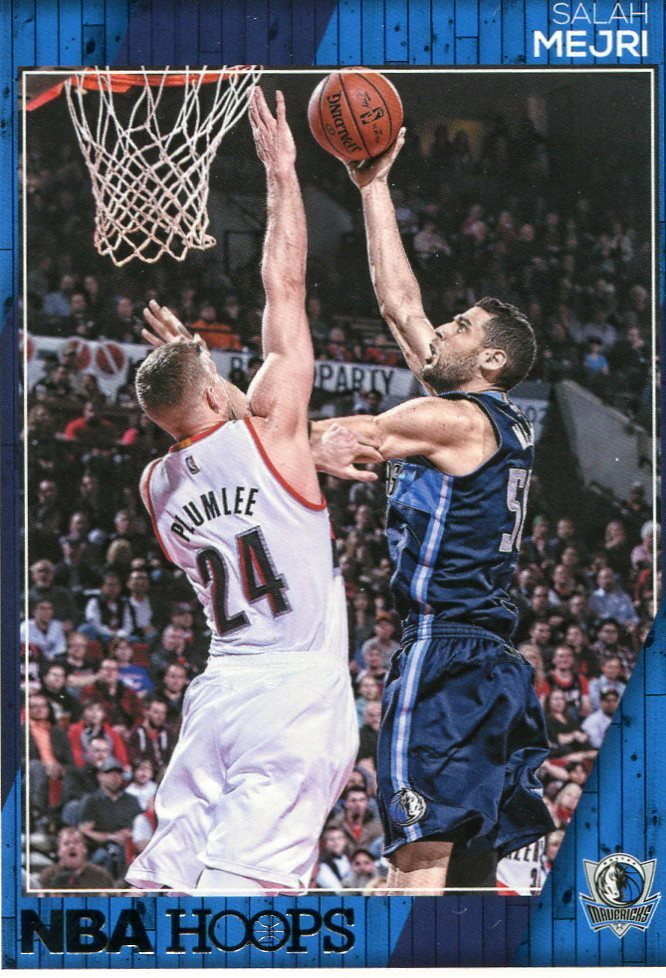 2016 Hoops Basketball Card #210 Salah Mejri