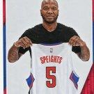 2016 Hoops Basketball Card #253 Maureese Speights