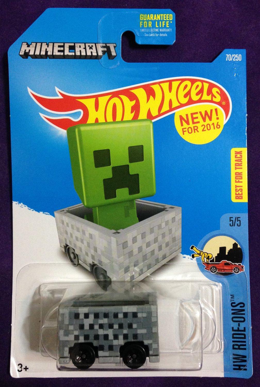 2016 Hot Wheels #70 Minecraft
