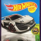 2016 Hot Wheels #79 Renault Sport R.S. 01 GRAY