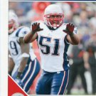 2011 Score Football Card #174 Jerod Mayo