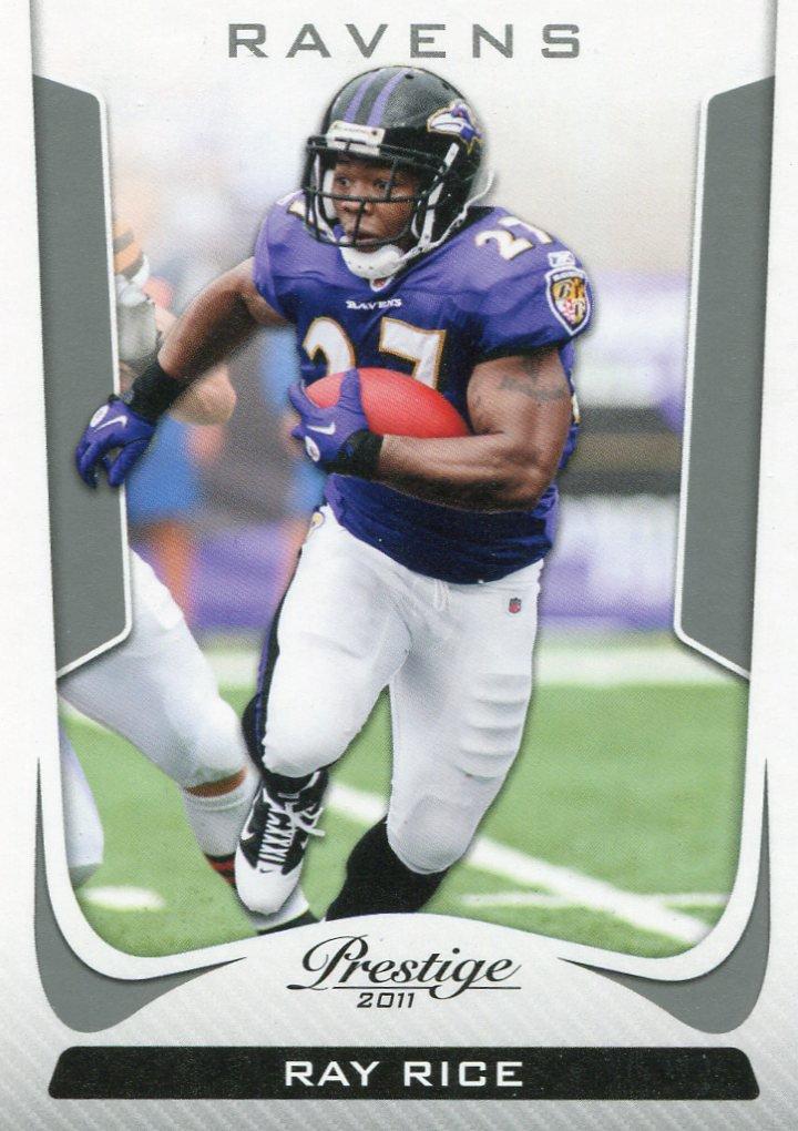 2011 Prestige Football Card #17 Ray Rice