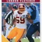 2011 Score Football Card #299 London Fletcher