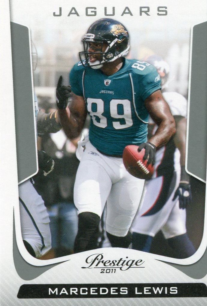 2011 Prestige Football Card #91 Marcedes Lewis
