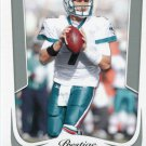 2011 Prestige Football Card #105 Chad Henne