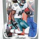 2011 Prestige Football Card #106 Davone Bess