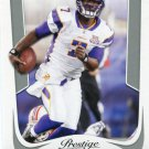 2011 Prestige Football Card #112 Tavaris Jackson