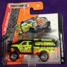 2015 Matchbox Short Card #57 Ford Superlift F-350
