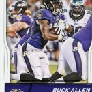 2016 Score Football Card #24 Buck Allen